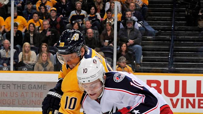 Columbus Blue Jackets v Nashville Predators