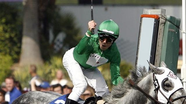 Horse Racing - Talamo wins in Hollywood