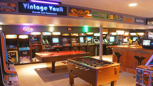 Father and Son Turn Basement into the Most Impressive Retro Arcade Ever