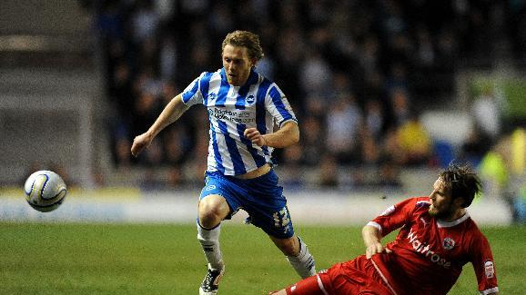 Craig Mackail-Smith was on target twice as Brighton won for the first time