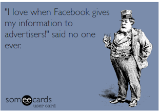 What Advertising Is, What Advertising Isn't, and What It May Be image Someecards Facebook Advertising1