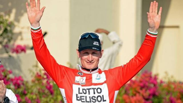 Cycling - Greipel back in lead with win on stage three