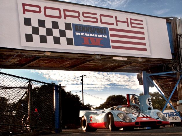 Click to view the Porsche Rennsport Reunion IV image gallery and slideshow.