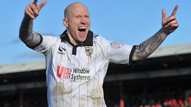 League One - Port Vale hit Burton for seven