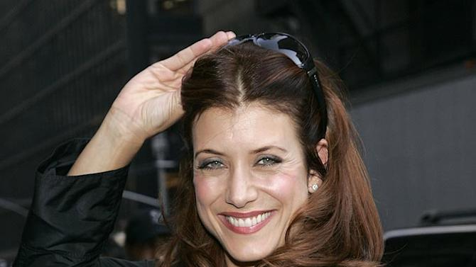 "Kate Walsh visits ""The Late Show with David Letterman""."