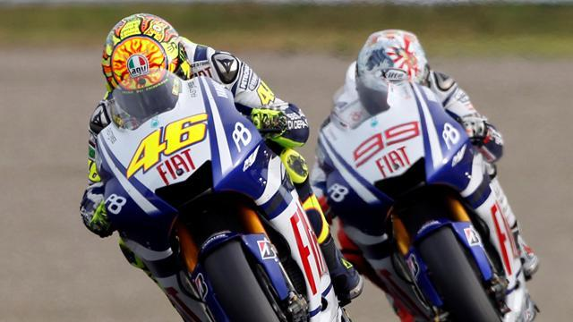 Motorcycling - No wall between Lorenzo and Rossi this time at Yamaha