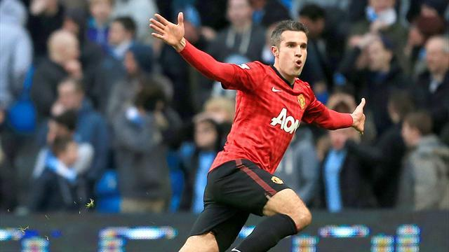 Premier League - Van Persie offre le derby aux Red Devils