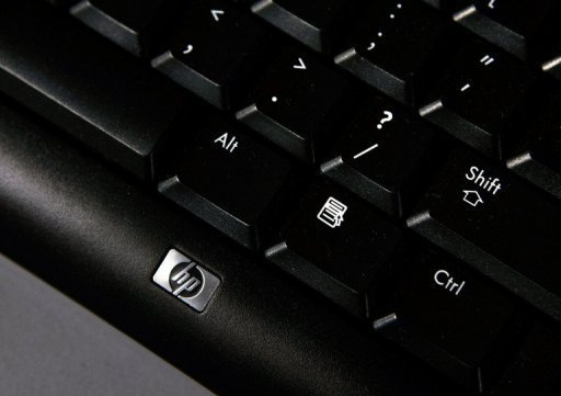 "The keyboard of a Hewlett-Packard desktop computer. The audit and consulting firm Deloitte on Wednesday rejected claims by US tech giant Hewlett-Packard that it missed ""accounting improprieties"" at the British firm Autonomy ahead of a takeover."