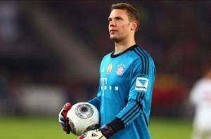 Neuer struck by calf injury