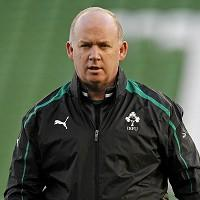 Ireland coach Declan Kidney described his job as 'manic'