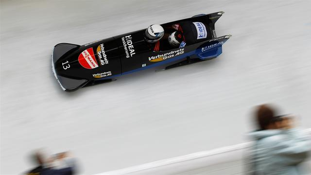 Bobsleigh - Florschuetz and Friedrich share Altenberg win
