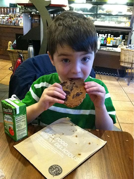 Dylan Hockley, 6, moved to Connecticut two years ago from Hampshire (Rex)