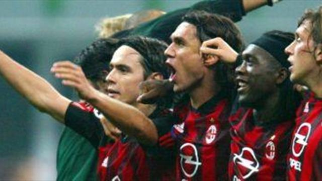 Serie A - Seedorf and Maldini for Milan