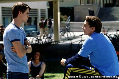 Popular jock Chris ( James Franco , right) and social outcast Ryan ( Shane West ) give each other the tools needed to seduce the girls of their dreams in Columbia/Phoenix's Whatever It Takes