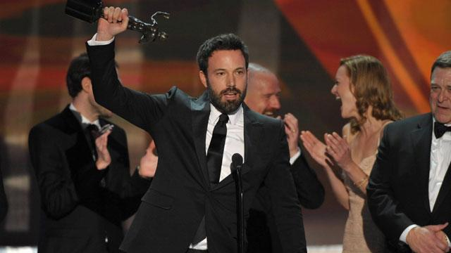 'Argo,' 'Lincoln' Win Big at SAGs