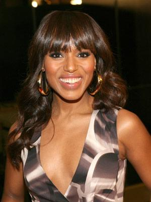 Top Color Tips for Longer Hair: Kerry Washington