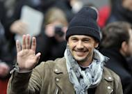 "US actor James Franco waves fans in Berlin, Germany, on February 9, 2013. Franco has lashed out at Australia for banning the US gay-themed film ""I Want Your Love"", calling the decision embarrassing"