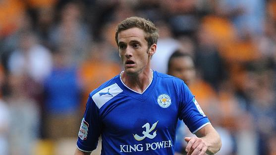 Andy King came off early for Leicester City against Wolves