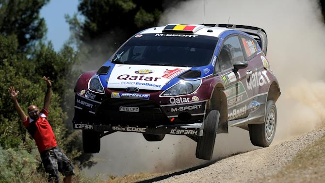 FIA World Rally Championship Italy - Day One