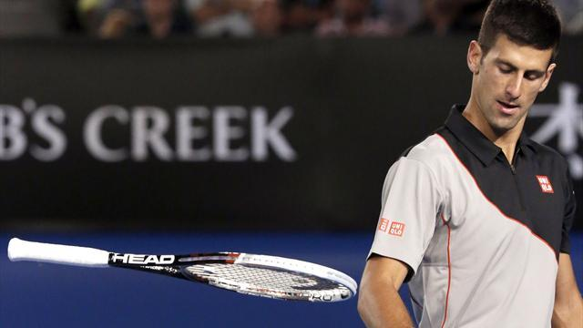 Australian Open - Wawrinka stuns Djokovic in five-set classic to reach semis