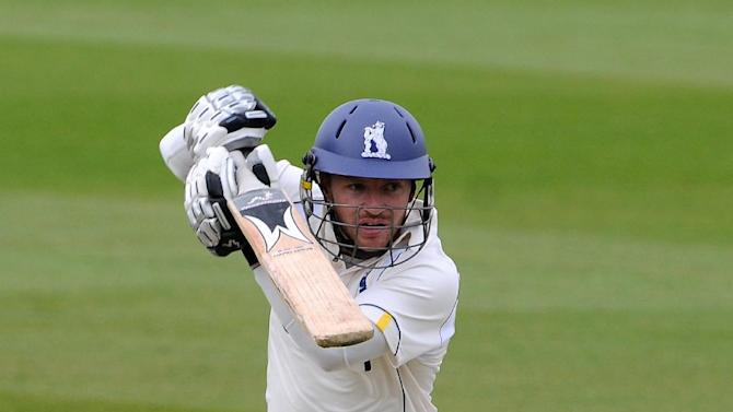 Ian Westwood was in form as Warwickshire made a bright start