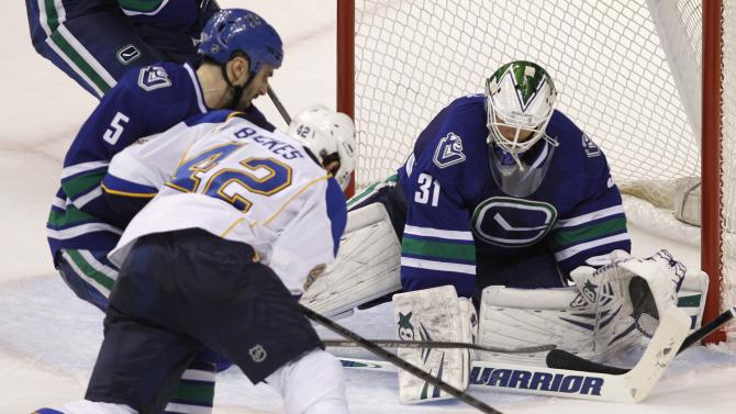 St. Louis Blues v Vancouver Canucks
