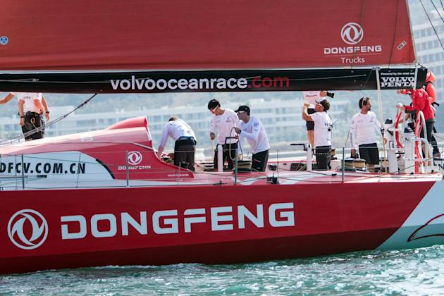 Yachting - Volvo Ocean Race leaders break mast