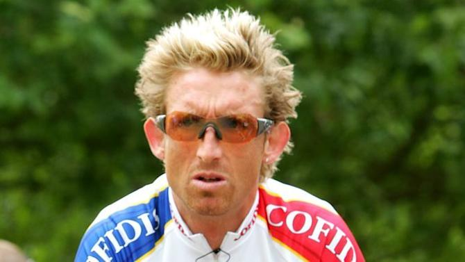 Australian cyclist Matt White in 2005 Tour de France