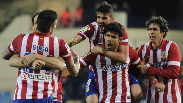 Liga - Costa header keeps Atletico top