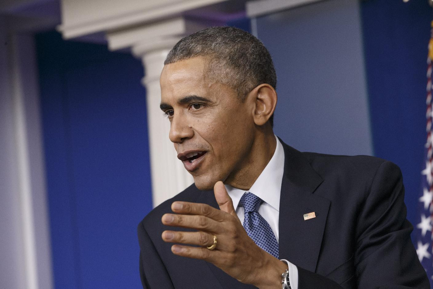 Obama says North Korea hacked Sony, vows response
