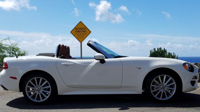 The #FIAT124Spider takes fun to the limit. Thanks for sharing, Danny W.