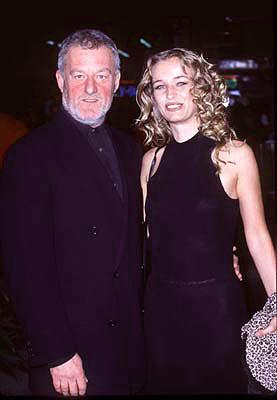 Bernard Hill and Camilla Overbye Roos at the premiere of Paramount's Titanic
