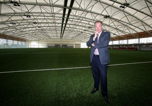 David Sheepshanks said a lot of work at the new centre will go into improving the fine margins that can separate winning and losing