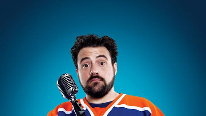 """Kevin Smith in """"Comic Book Men,"""" which premieres this Sunday at 10pm on AMC."""