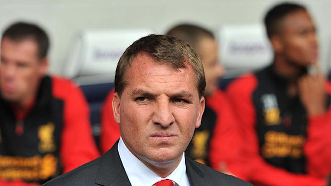 Brendan Rogers, pictured, said Andy Carroll would have featured were it not for injury