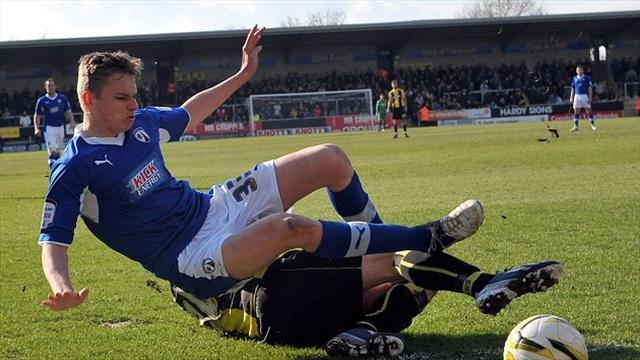Football - Townsend blow for Cumbrians