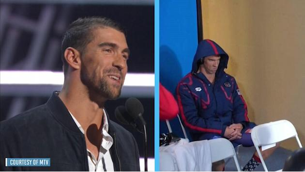 Michael Phelps says Future inspired his meme face