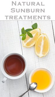 Simple Ingredients Such As Honey, Lemon & Tea Can Help Soothe Skin