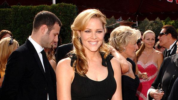 Mary McCormack at The 57th Annual Primetime Emmy Awards.