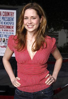 Premiere: Jenna Fischer at the LA premiere of Universal's American Dreamz - 4/11/2006