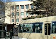 US negotiator Glyn Davies and his team leave the North Korean embassy in Beijing after bilateral talks. Senior US and North Korean diplomats began talks on Pyongyang's controversial nuclear programme on Thursday, in the first substantive contact between the two nations since leader Kim Jong-Il died