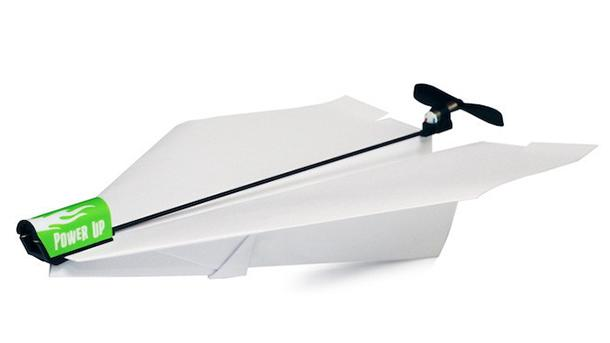 PowerUp Electric Paper Airplane
