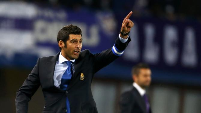 Porto's head coach Fonseca reacts during their Champions League Group G soccer match against Austria Wien in Vienna