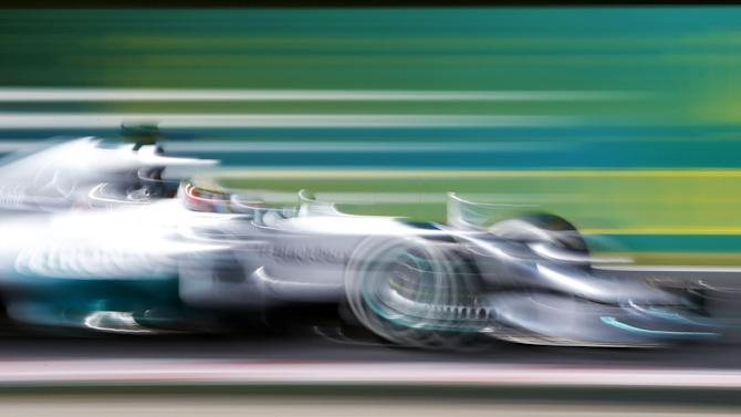Formula 1 - Hamilton completes Hungarian practice sweep