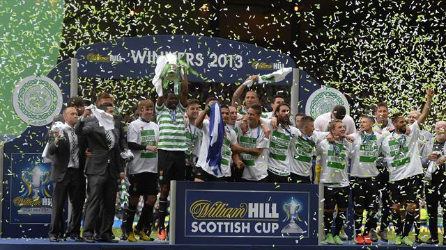 Scottish Football - Celtic down Hibs to complete double