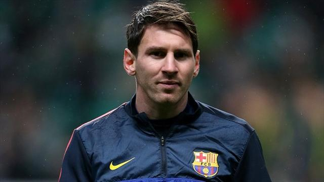 Liga - Barcelona president defends 'innocent' Messi