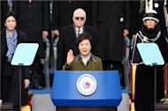 S Korea inaugurates first female president