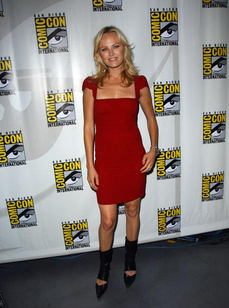 Malin Akerman in Herve Leger