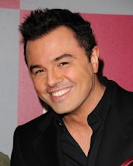 Seth MacFarlane arrives at the 2011 InStyle/Warner Brothers Golden Globes Party at The Beverly Hilton hotel on January 16, 2011 in Beverly Hills -- FilmMagic