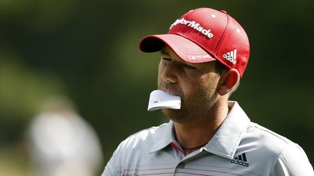 US Open - Two holes wreck Garcia's hopes